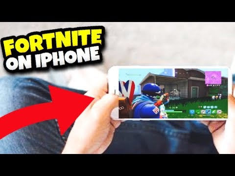 How To DOWNLOAD Fortnite on PHONE! iOS & ANDROID *EARLY ACCESS!* (Fortnite Battle Royale)