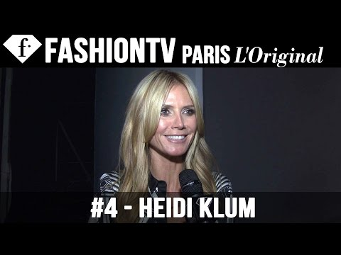 Heidi Klum at Roberto Cavalli | Milan Fashion Week Spring 2015 | FashionTV