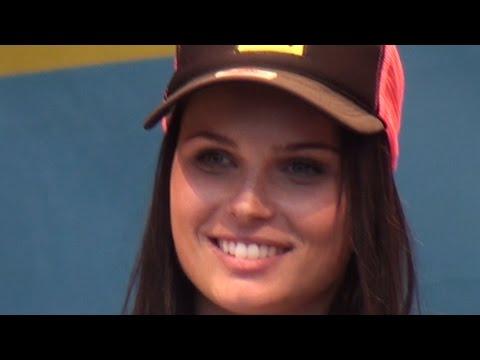 Tag des Sports Wien 2014 | Anna Fenninger auf der Bühne