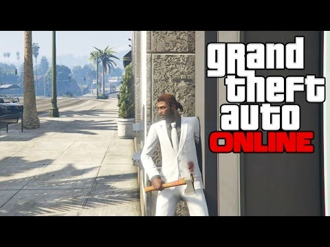 GTA 5 Online PS4 Multiplayer Gameplay - GTA Online - First Person Vigilante Mode