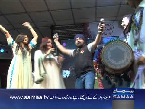RJ sethi Cookie Singh enjoy & dancing on shazia khush song at...