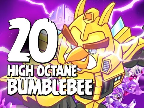 Angry Birds Transformers - Gameplay Walkthrough Part 20 - High Octane Bumblebee Gases Up