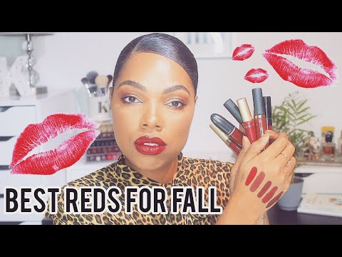 BEST RED LIPSTICKS FOR ALL SKIN TONES | Karina Waldron