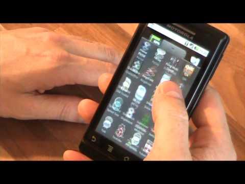 Android 2.1 on Motorola Milestone ( EU  Droid )