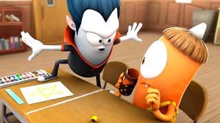 Spookiz   Don't Cross The Line !   Kids Cartoon   Funny Cartoon   WildBrain Cartoons