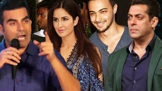 download lagu Salman To Launch Aayush Sharma With Katrina , Arbaaz gratis
