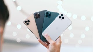 iPhone 11 Pro and 11 Pro Max COLOR COMPARISON