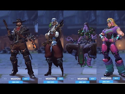 Overwatch Halloween Terror 2017 Skins Emotes And Highlight Intros