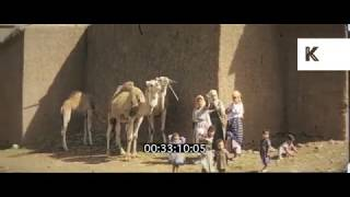 1960s Fes, Morocco, Busy Street Scenes, Travelogue, Home Movies