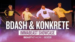 BDASH & Konkrete | IMMABEAST Showcase 2018