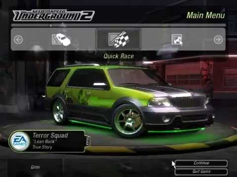 NFS Underground 2 : A Drift race with Lincoln Navigator.