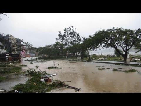 Dozens feared dead as cyclone pounds Pacific island of Vanuatu