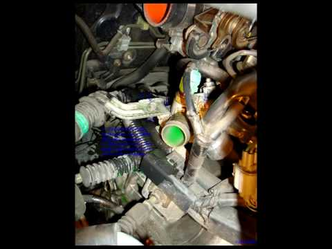 Radiator and Thermostat Install and Tutorial on 95 Honda Accord