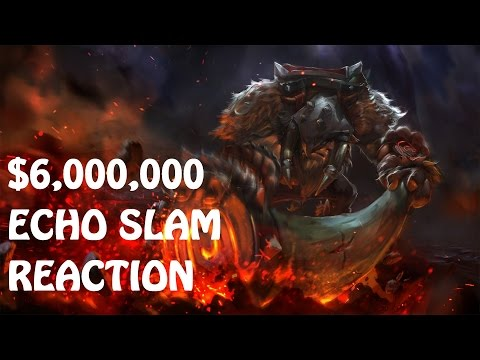 6 Million Dollar Echo Slam | Every Caster's Reaction | Dota 2 TI5