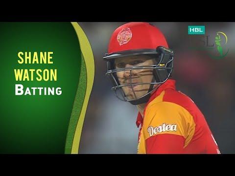 Match 9: Islamabad United vs Lahore Qalandars - Shane Watson's Innings