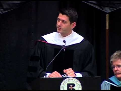 Benedictine College - Paul Ryan Commencement Address 2013