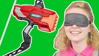 Funny Kids Videos 👶💪👴  Nerf Bow and Arrow Shooting War BATTLE! 👶💪👴 KID vs ADULT