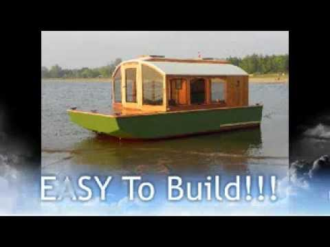 Cheap Houseboat you can build. DIANNE'S ROSE