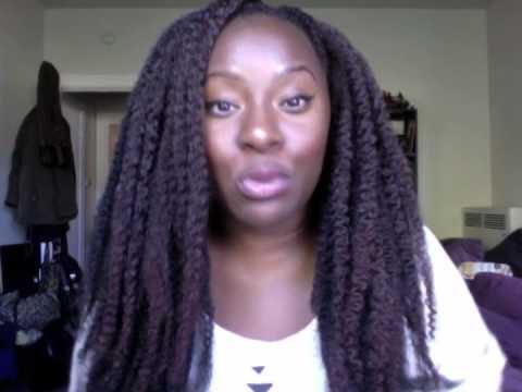 Crochet Braids with Marley Hair - YouTube