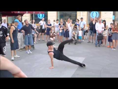 Уличные танцы в Питере