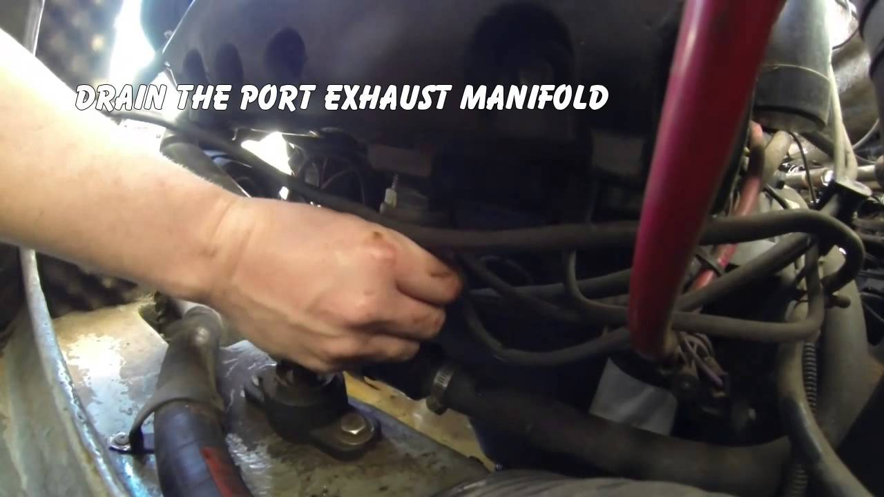 Winterizing a 1993 mercruiser 4 3l v6 marine engine with for How to winterize yamaha outboard