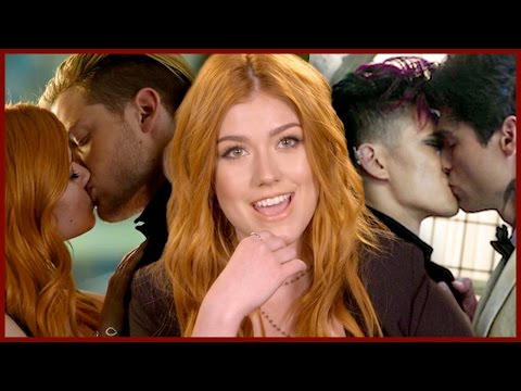 SHADOWHUNTERS CAST TALKS KISSING ON SET + 2 Truths & A Lie!