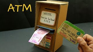 ATM DIY   How to make Kids ATM