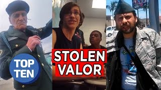 Top 5 Stolen Valor Moments of 2018
