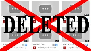 RANT: YOU TUBE DELETED MY VIDEOS!