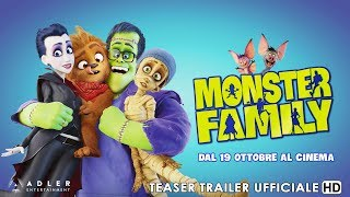 Monster Family | Teaser Trailer Ufficiale Italiano | HD