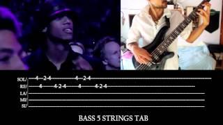Bass Cover Tutorial // Michael Jackson - Billie Jean