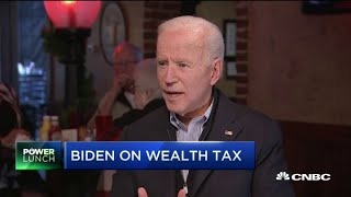 Biden on tax policy: 'The middle class is getting killed'