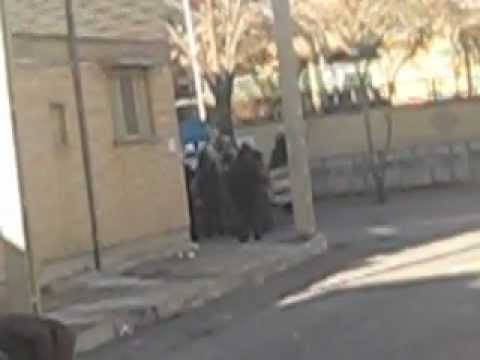 Gonabadi dervishes resist in front of the regime in Iran / Shahr-e-kord