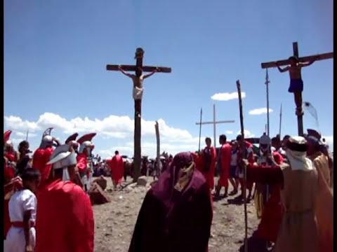 Viacrucis 2012 Rectoría San Agustín Comonfort, Gto.