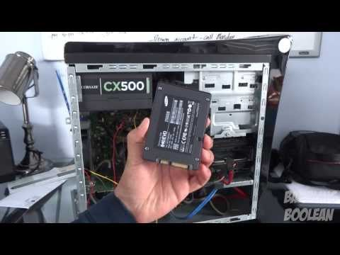 How to Install a SSD and Load Windows