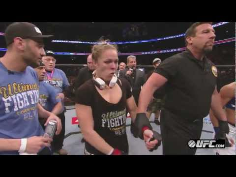 UFC 157: Ronda Rousey and Liz Carmouche Post-Fight Interviews
