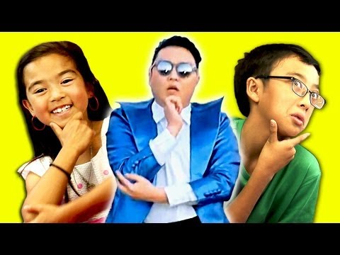 KIDS REACT TO PSY- GENTLEMAN