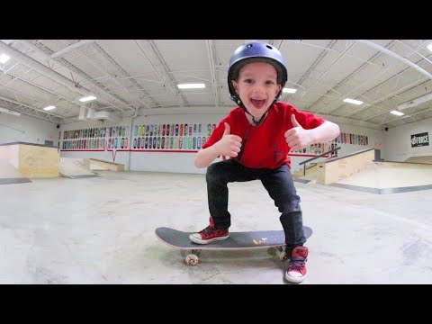 How To Skateboard! (By a 7 Year Old)