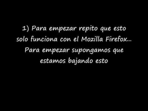 Reanudar Descargas Interrumpidas (Solo Firefox)