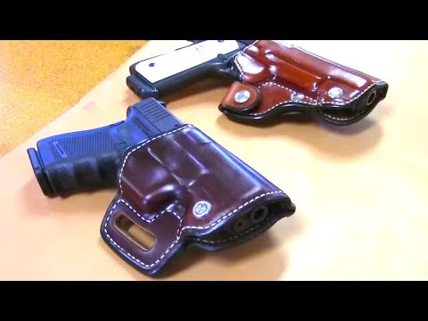 How It's Made Custom Leather Holster Build Sam Andrews & Hank Strange