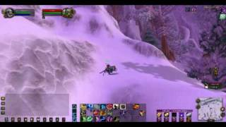 Molten-WoW Garam using speed + fly hack, Frostwolf Realm