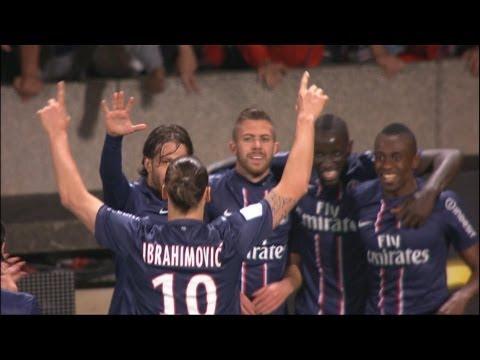 But Jérémy MENEZ (53') - Olympique Lyonnais - Paris Saint-Germain (0-1 / 2012-13