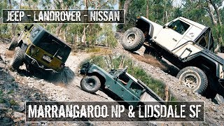 4wd Marrangaroo NP and Lidsdale SF - Fire Truck Hill - Unimog Hill - Pajero Hill