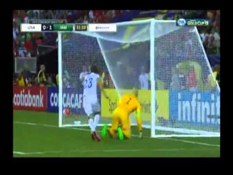Jamaica beats out USA to the Gold Cup Final 2015    CEEN Sports News   July 22, 2015