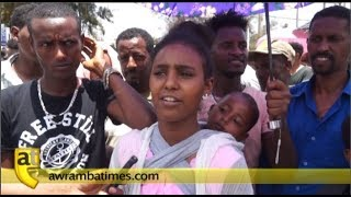 Displaced Tigreans from Amhara suffer from lack of food and shelter