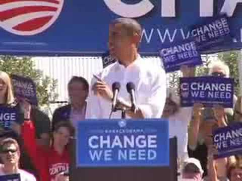 Barack Obama on Change in Grand Junction, CO