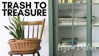 Trash To Treasure | Secret Hidden Compartment | Up-cycled Projects | Dump Haul DIY | Recycled Home