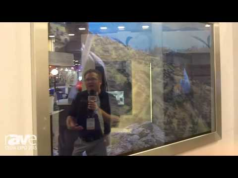 CEDIA 2015: ClearView Demos Its New Highlite TV Mirror Series for High Ambient Light Situations