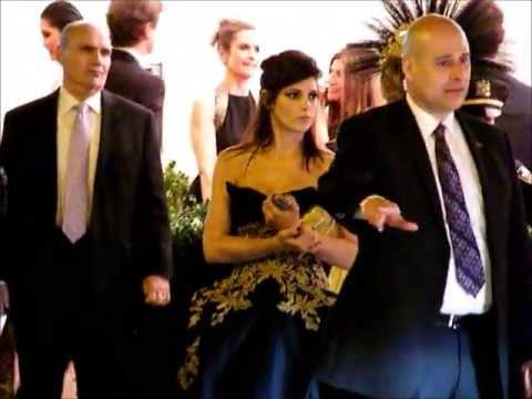 Ashley Greene leaving the Met Gala - May 6, 2013