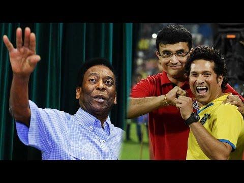 Pele likely to meet Sachin Tendulkar, Sourav Ganguly